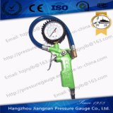 60mm 1.5MPa Green Tire Air Pressure Gauge