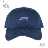 Custom Flexfit Embroidery Cotton Twill Golf Navy Baseball Dad Hat