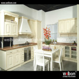 2016 Welbom White High Glossy Lacquer U Shape Kitchen Cabinet