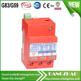 Photovoltaic System with CE & TUV DC1000V-40ka Surge Protective Device (SPD)