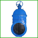 Resilient Wedge Gate Valves with Flanged Ends - Spur Gear Actuator Gate Valve
