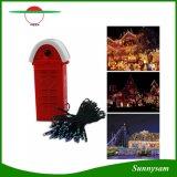 100/200PCS LED Saline LED String Lights 4 Colors Salt Water Powered Energy-Saving Outdoor Decoration Light for Party Festival