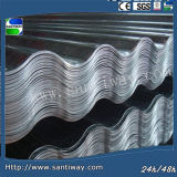 0.15-0.30mm Galvanized Steel Roofing Sinusoidal Profile Steel Sheet