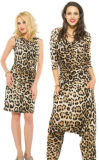 2014 New Arrivals Sexy Leopard Lady's Fashion Dress