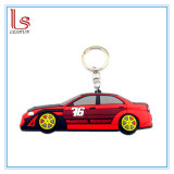 2D/3D Custom Shaped Soft PVC Rubber Car Band Keychain