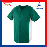 Healong China Factory Clothing Gear Blank Sulimation Teens Baseball Wears