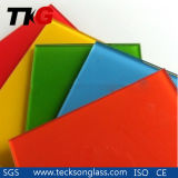 3-12mm Red Lacquered Glass with High Quality
