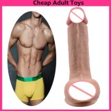 Long Big Anal Dildo Men Toys Anal Plug W/ 8 Beads Large Butt Plug Prostate Massage Sex Toy for Women Couples Erotic