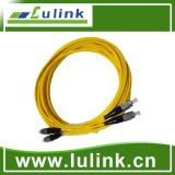 Fiber Optic Patch Cord with Single Model Duplex