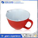 Customized Non-Disposaple Bicolor Melamine Food Punch Bowl