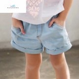 Fashion Summer New Style Light Blue Denim Shorts for Girls by Fly Jeans