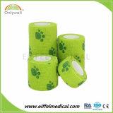 Premium Medical Cohesive Vet Wrap Elastic Bandage with ISO Ce FDA