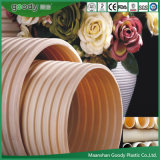 Drainage System PVC-U Double Wall Corrugated Plastic Pipe