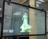 1.52X30m Self-Adhesive 3D Clear Rear Projection Film for Window Advertising