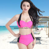 Sexy Classic Moulded Cup Contrast Two-Piece Bikini
