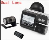 HD Night Vision Dual Lens H. 264 Rearview Parking Camera Car DVR Dashboard Car Vehicle Camera 1080 DVR Cam G-Sensor 5 2