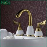 Flgwaterfall Brass&Ceramic Bathroom Basin Faucet Mixer Tap/Faucet