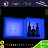Wireless Color Changing Lighted LED Squared Champagne Bucket