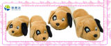 Cute Plush Dog Toy Roomslipper