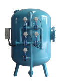 Multi-Media Pressure Filters Suspended Solids Removal