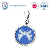 Embroidery Zipper Charm- Simple Designs 02