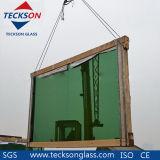 4-6mm Dark Greeen/Deep Green Reflective Glass with Ce&ISO9001