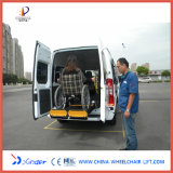 CE Certificate Wheelchair Elevator for Van and Minibus with Loading Capacity 350kg