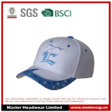 100% Cotton Baseball Cap with 3D Embroidered Logo
