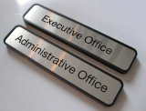 Metal name plates for office doors (ASNY-JL-ML-12121101)