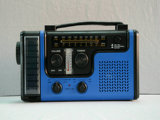 CE/RoHS/FCC Approved Camping Am/FM Frequency Dynamo Radio Solar