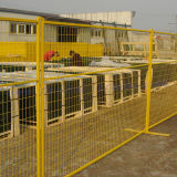 Temporary Fencing for Construction Site