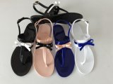 PVC Jelly Sandal with Buttyfly Upper