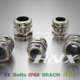 Hnx Spring Type EMC Pg Brass Cable Gland with Long Thread