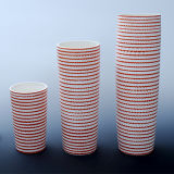 Cylinder-Shaped Design Tall Ceramic Office Craft for Hotel Decorative
