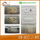 Factory Hot Sale Modern Design Power Switch with Ce Certificate