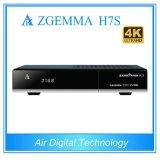 4k Uhd TV Box Zgemma H7s Satellite/Cable Receiver Linux OS Enigma2 Hevc/H. 265 with 2*DVB-S2/S2X + DVB-T2/C Three Tuners