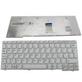 Laptop Keyboard for Lenovo Ideapad S10-3/S10-3s Series Us Keyboard White