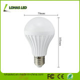 2017 China Supplier LED Plastic Bulb Light Ce RoHS Energy Saving LED Bulb Light High Power E27 9W SMD5730 LED Bulb
