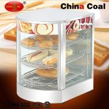 Tfw-1p3 Curved Glass Food Display Warmer