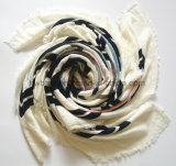 Wholesale Hairy Cashmere Imitation Printed Scarf /Shawl (HWBAC066)