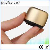 Mini Style Golden Finishing Aluminium Shell Bluetooth Speaker (XH-PS-683)