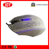 New Design Colorful 3D Wired Office Optical Mouse