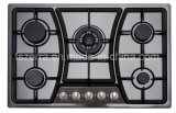Fashion Kitchen Classic Black Built-in Cast Iron Gas Cooker Jzs75001b