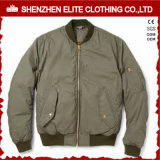 Winter Coat Army Green Mens Baseball Jackets (ELTBJI-29)