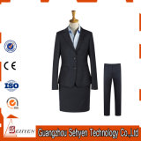 70% Wool and 30% Polyester Formal Business Suit for Woman