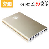 Promotional Wholesale Portable Mobile Power Bank 5000mAh with Dual Output