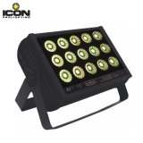15X15W RGB 3in1 LED Wall Washer Outdoor Light Waterproof IP65