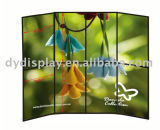 2X4 Kd/PVC Board Folded Panel Stand for Exhibition