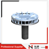 New Design Sizing Flat Roof Commercial Metal Strainer Drainage Overflow Roof Drain with Cover
