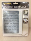 Ultra Slim & Lightweight Book Light LED Page Magnifier-Large